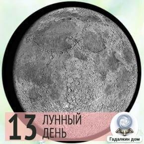 Лунный календарь садовода на 13 лунный день