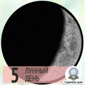 Лунный календарь стрижки на 5 лунный день