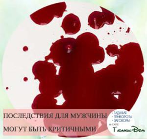 Приворот на кровь с вином