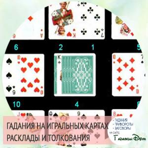 толкование гадания на игральных картах