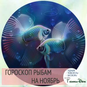 Гороскоп на ноябрь 2016 года Рыба Женщина