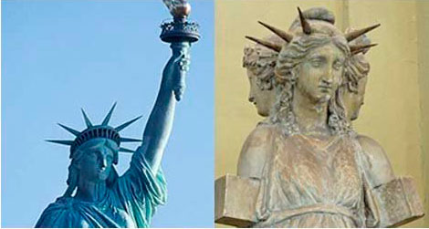 статуя свободы богиня геката
