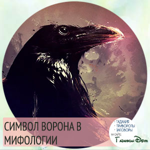что символизирует ворон
