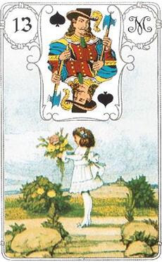 изображение карты ленорман ребенок