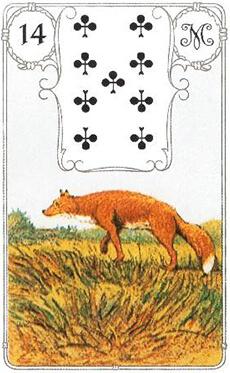 изображение карты ленорман лиса