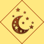 Карта Луна и Звёзды