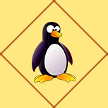 Карта Пингвин