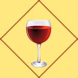 Карта Бокал вина