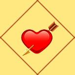 Карта Сердце со стрелой