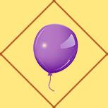 Карта Воздушный шар