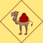 Карта Верблюд