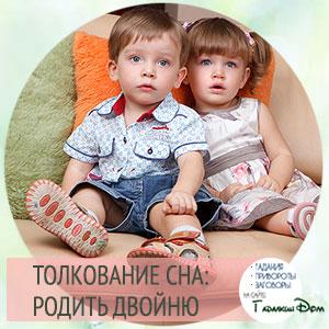 родить двойню во сне