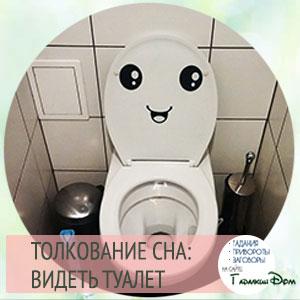 видеть туалет во сне