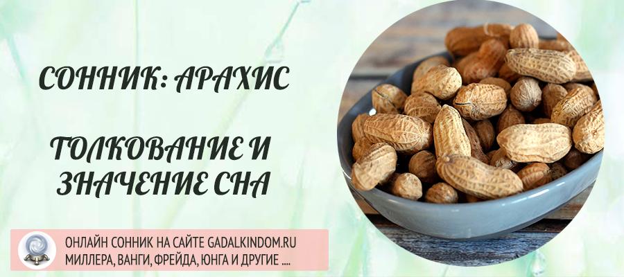 сонник арахис