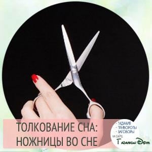 сонник ножницы
