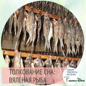 сонник вяленая рыба во сне