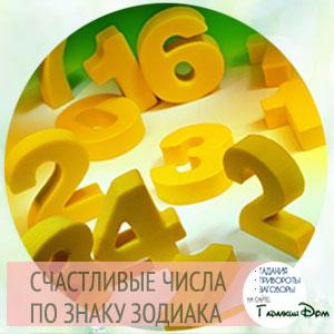 счастливые числа по дате рождения