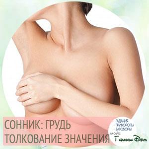 сонник женская грудь