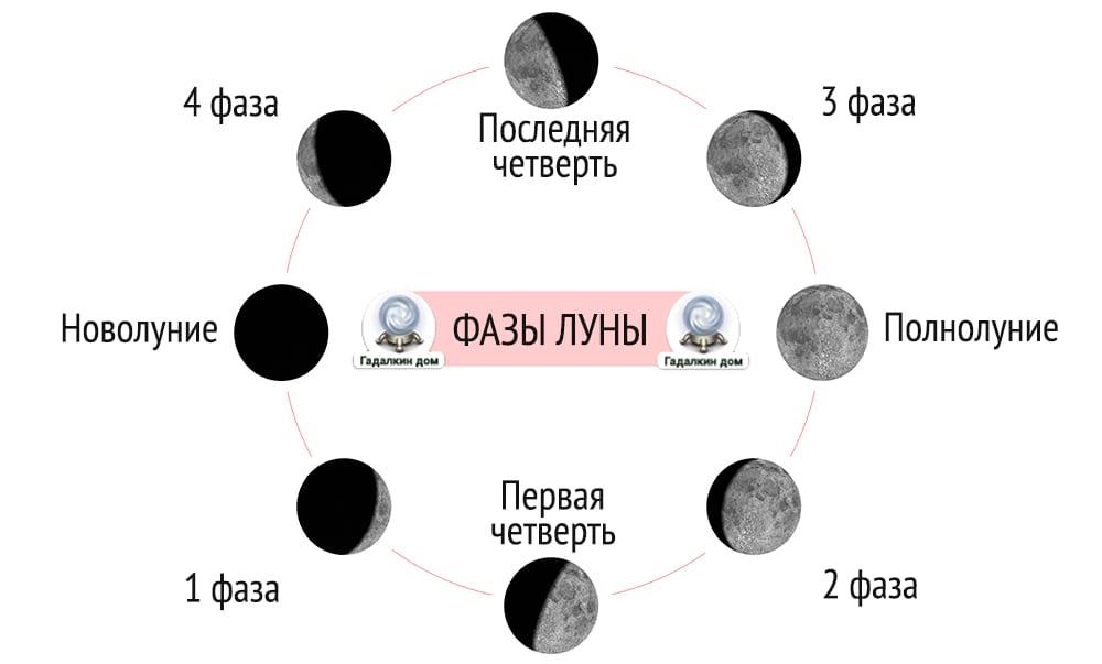 фазы луны какие бывают фото никогда стремился