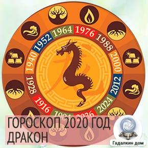 Гороскоп Дракон 2020