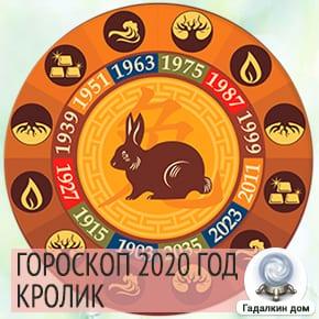 Гороскоп Кролик (Кот) 2020
