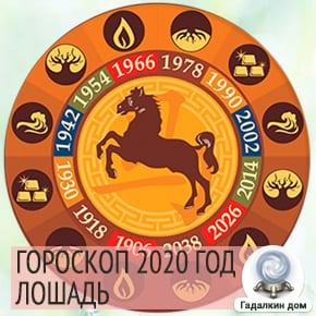 Гороскоп Лошадь 2020