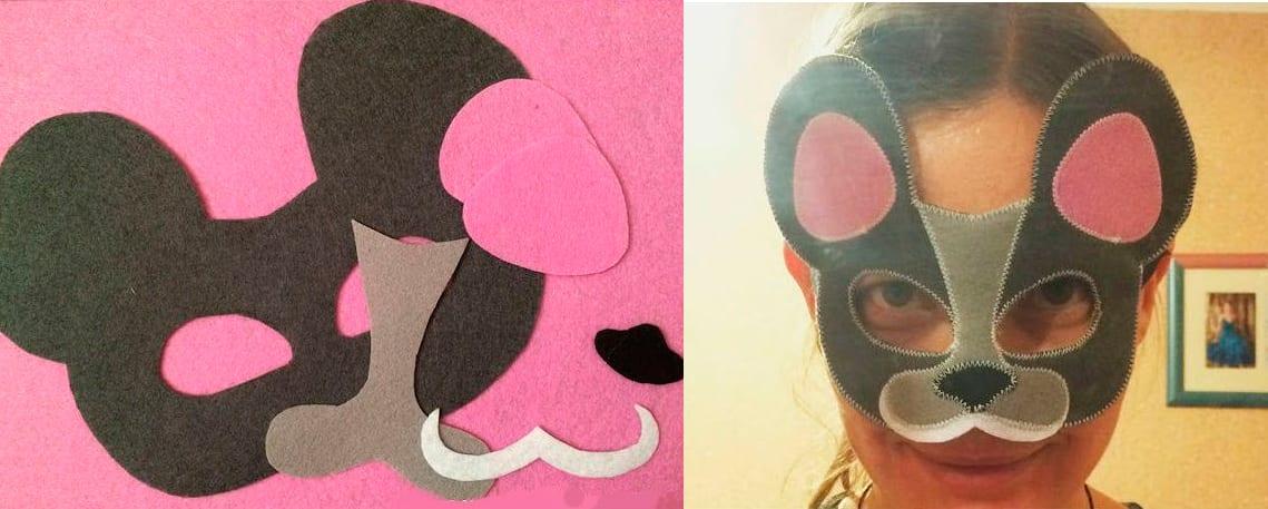 маска новогодняя 2020 год