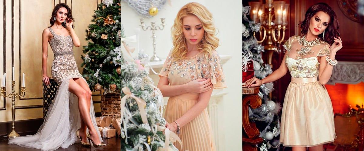 Фасоны Новогодних платьев