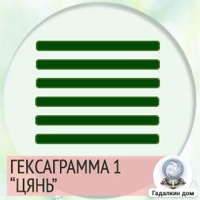 1 Гексаграмма