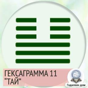 11 Гексаграмма