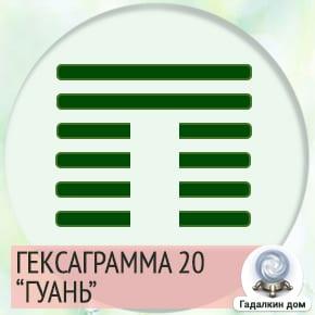 20 Гексаграмма