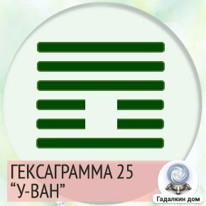 25 Гексаграмма
