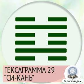 29 Гексаграмма
