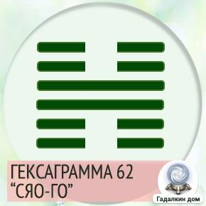 62 Гексаграмма