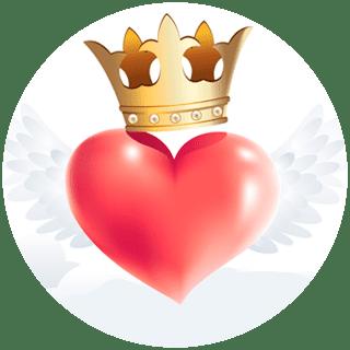 Популярное онлайн-гадание Корона любви
