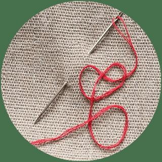 Гадание да-нет На иголке с ниткой