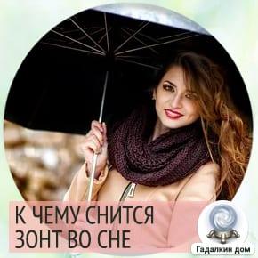сонник зонтик открытый
