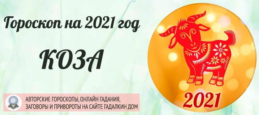 Гороскоп на 2021 год Коза (Овца)