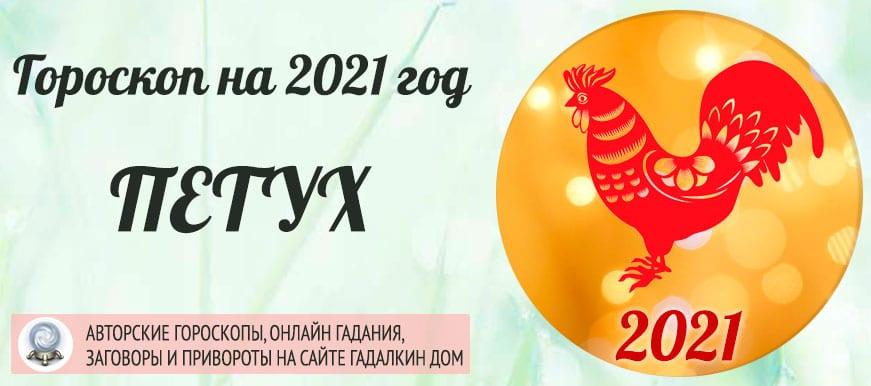 Гороскоп на 2021 год Петух