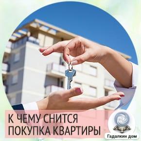 покупать квартиру во сне