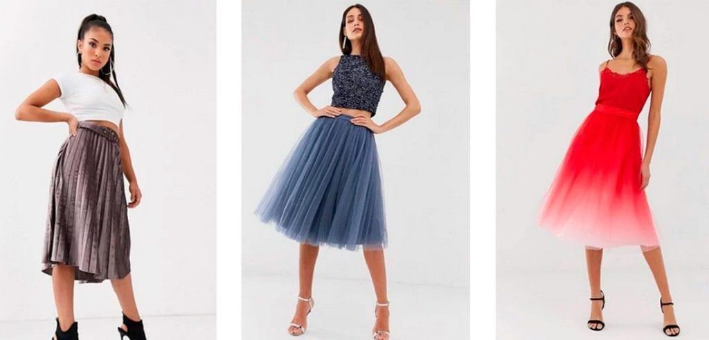 Выбор юбки на Новый 2021 год