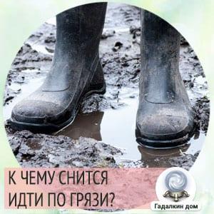 Сонник: идти по грязи