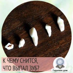 к чему снятся выпавшие зубы без крови