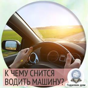 сонник водить машину если не умеешь