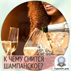 шампанское во сне