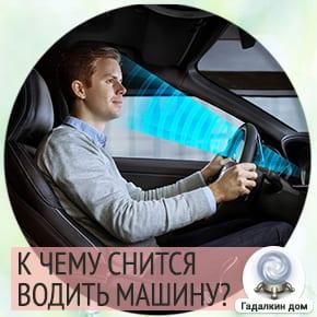 сон водить машину