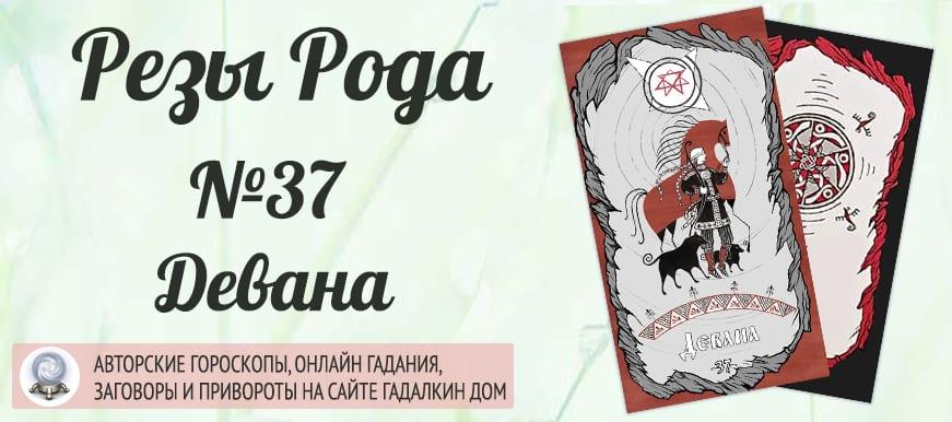 Реза Рода №37 «Девана»
