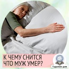 сон умер муж