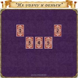 гадание «На удачу и деньги» с картами Эндоры