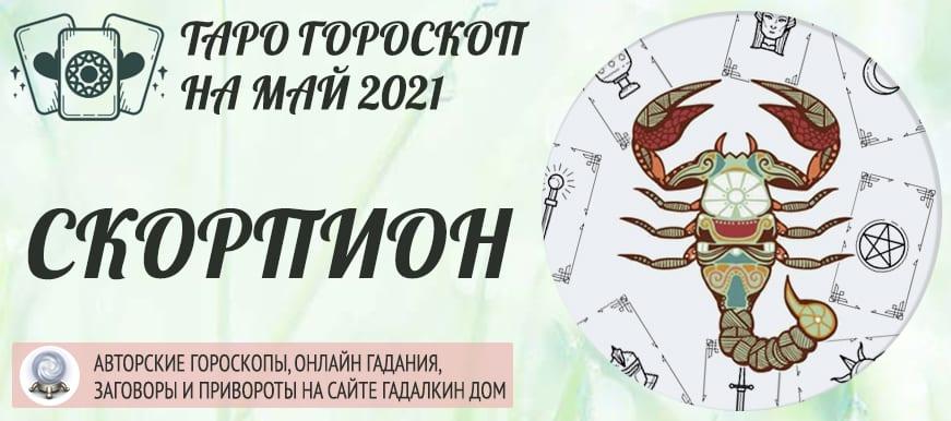 гороскоп таро на май 2021 скорпион